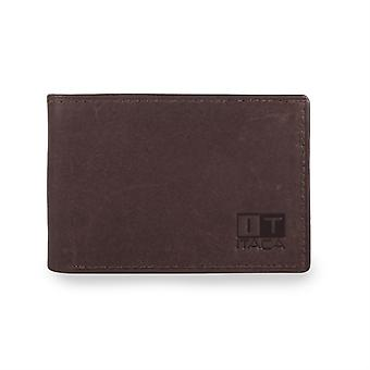 Wallet purse holder genuine leather man. 6-compartment cash cards and documentation 1 for tickets. 37908