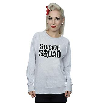 Suicide Squad Women's Movie Logo Sweatshirt