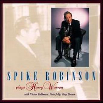 Spike Robinson - Plays Harry Warren [CD] USA import