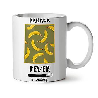 Banana Fever Funny NEW White Tea Coffee Ceramic Mug 11 oz | Wellcoda