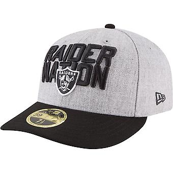 New Era 59Fifty Low Profile Cap - NFL DRAFT Oakland Raiders
