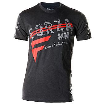 """Forza Sports """"New Heights"""" MMA T-Shirt - Charcoal"""