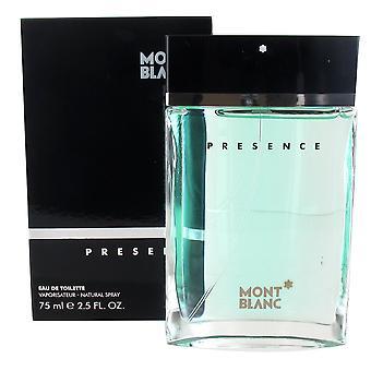 Montblanc Presence 75ml Eau de Toilette Spray for Men
