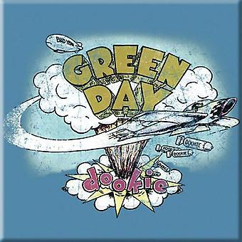 Green Day Fridge Magnet Dookie new Official 76mm x 76mm