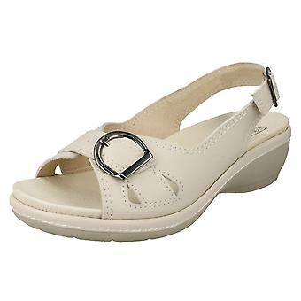 Ladies Easy B Wide Fitting Sandals Sicilly