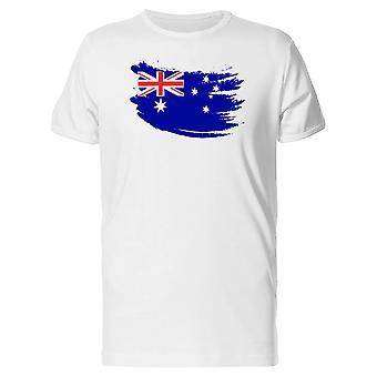 Malen Hub Australien Flagge T-Shirt Herren-Bild von Shutterstock