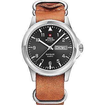 Schweiziske militære Herre ur quartz ure SM34071. 06
