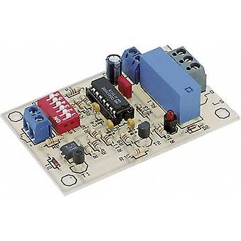 Conrad komponenter 115975 timer monteringssett 9 V DC, 12 V DC 0,0084 s-19,5 h