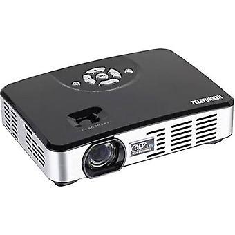 Telefunken projektor DLP400 LED ANSI lumen: 400 lm 1280 x 800 WXGA 1000: 1 svart, sølv