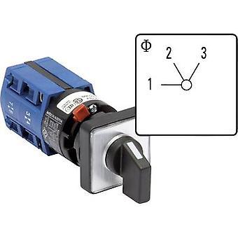 Kraus & Naimer CG4 A250-600 FS2 Uniselector 10 A 2 x 60 ° Grey, Black 1 pc(s)