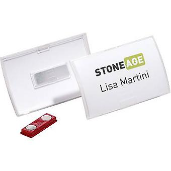 Durable 821519 Name badge CLICK FOLD MAGNET 54x90mm - 8215 Magnet 10 pcs/pack 10 pc(s)