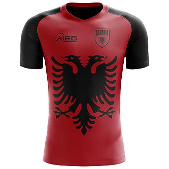 2018-2019 Albanien Flagge Konzept Fußballtrikot