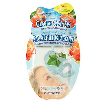 7th Heaven Glacial Clay Spa Sheet Face Mask