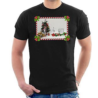 元ストームトルーパー クリスマス ツリー キャンデー杖スライド メンズ t シャツ
