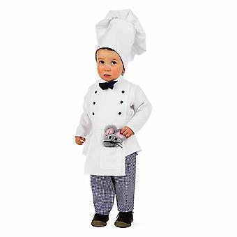 Cook barn kostym kock Matlagning kostym kostym barn