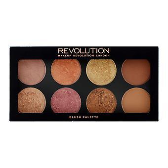 Makeup Revolution Ultra Palette Golden Sugar 2-Rose Or