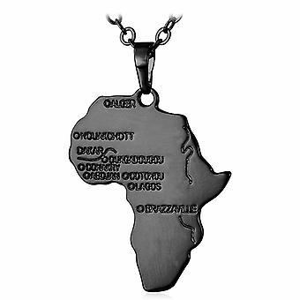 U7 Afrikahalsband - Svart