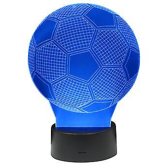 3D LAMPPU JALKAPALLO