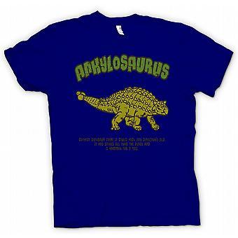Dla dzieci T-shirt - ankylozaura - najciekawszy Dinosaur kiedykolwiek - młot na ogon