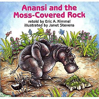 Anansi e la roccia ricoperta di muschio