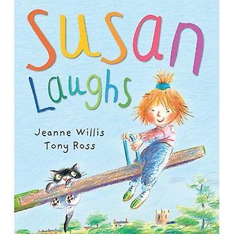 Susan skrattar