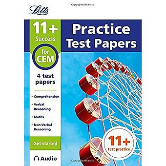 11+ Practice Test Papers (Get started) for the CEM tests inc. Audio Download (Letts 11+ Success)