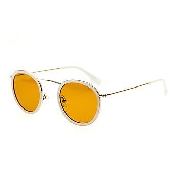 Yksinkertaistaa Jones Polarisoidussa aurinkolasit - valkoinen/ruskea