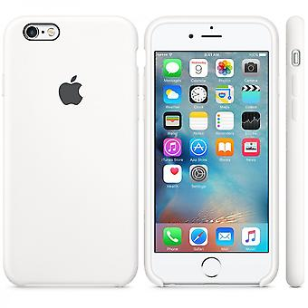 Original Packed Apple Silicone Cover Case for iPhone 6 6S in White