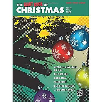 The Giant Book of Christmas Sheet Music: Piano/Vocal/Guitar (Giant Book of Sheet Music)