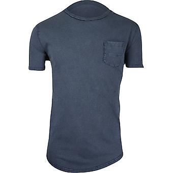 Quiksilver Surf waschen roh SS Herrenshirt - blaue Nächte