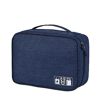 Elektronisk taske, blå