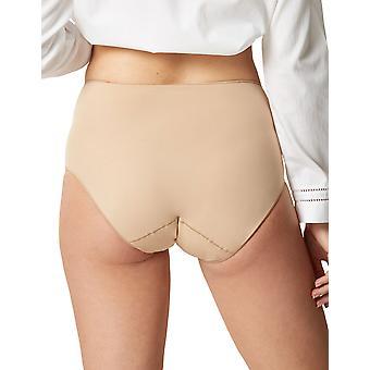 Les Invisibles potencia piel Beige Panty completo Highwaist breve de Maison Lejaby 5304P-389 mujeres