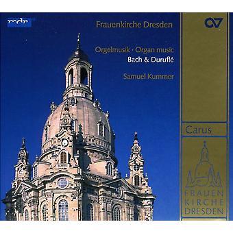 Bach/Durufle - Frauenkirche Dresden: Organ Music by Bach & Durufl [SACD] USA import