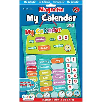 Fiesta Crafts Magnetic Small My Calendar