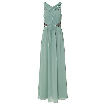 Little Mistress Womens/Ladies Ruched Pleated Maxi Dress