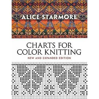 Charts for Color Knitting by Alice Starmore - 9780486484631 Book
