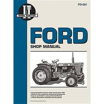 Ford Shop Service Manual - Models Delta/Superdexta/Fordson Major/Power