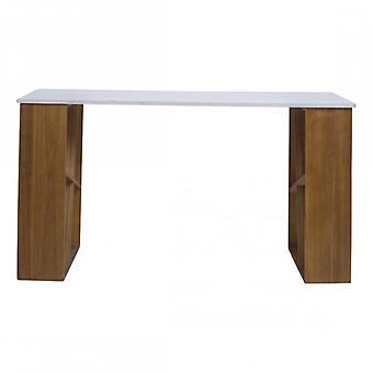 Rebecca Möbel-Schreibtisch Holz weiß modernes Studio-Haus