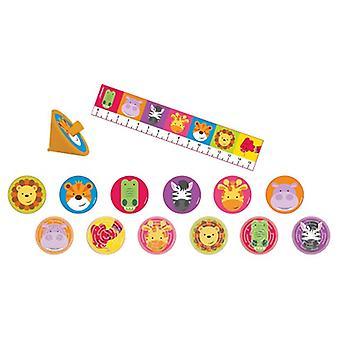 ג ' ונגל חיות המפלגה כיף להגדיר מביא צעצוע 24 חלקים ספארי הרפתקאות לילדים יום הולדת