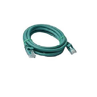 8ware Cat 6a UTP Ethernet Cable 2m Green