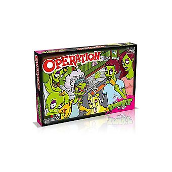 Winnende moves Zombie Operation Board spel