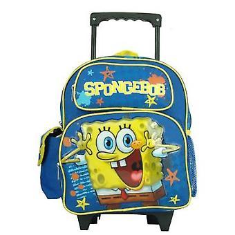 Small Rolling Backpack - Spongebob - Happy New School Boys Bag 802834