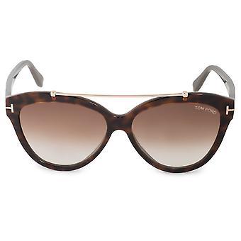 Tom Ford Livia FT0518 53F 58 Cat Eye Sunglasses