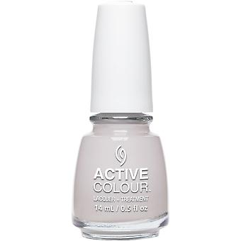 China Glaze Nail Polish - Collection de traitement - Set In Greystone 14ml