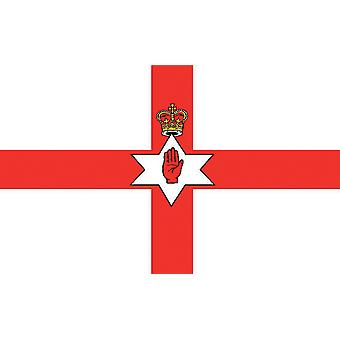 5ft x 3ft Flag - Northern Ireland - Ulster Banner