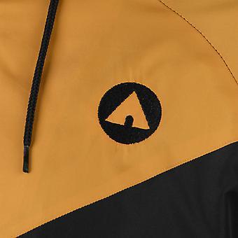 Airwalk hombres chaqueta impermeable capa superior con capucha cremallera de malla completa cordón