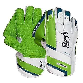 Kookaburra 2019 1100 voksne cricket-krok holde keeper hansker hvit/grønn