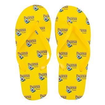 Pacifico Herren gelb Flip Flops