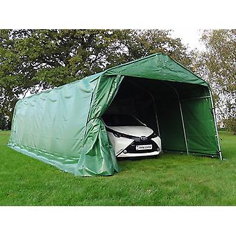 Carpa garaje PRO 3,6x8,4x2,68m PVC, verde