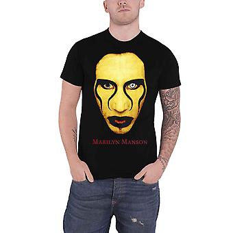 Marilyn Manson T Shirt Sex is Dead potrait Logo new Official Mens Black